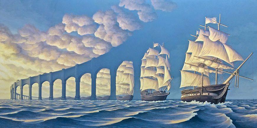 25 Brillantes Pinturas De Ilusiones ópticas Que Cambian Si Las Vuelves A Mirar