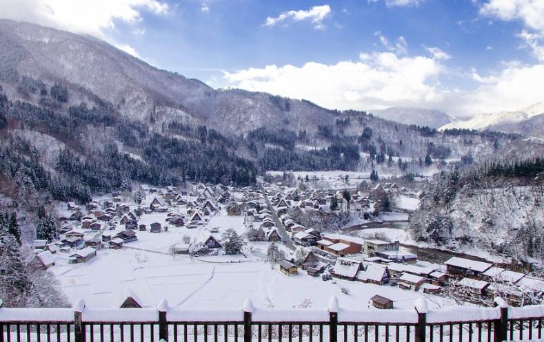 japon invierno
